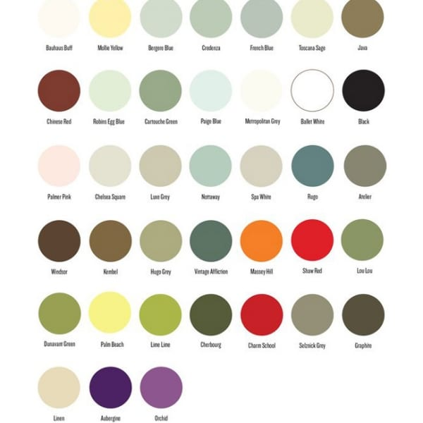 Amy Howard One Step Chalk Paint Colors