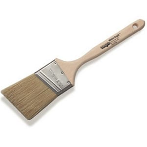 Helm Paint White Angle Paint Brush