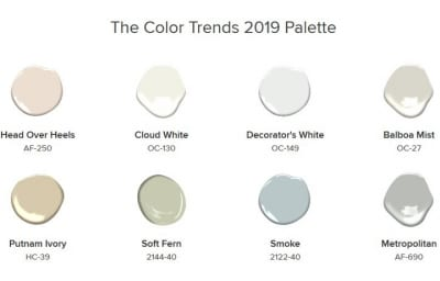 Benjamin Moore's Color Trends 2019 Are Here!