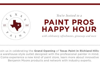 Paint Pros Happy Hour